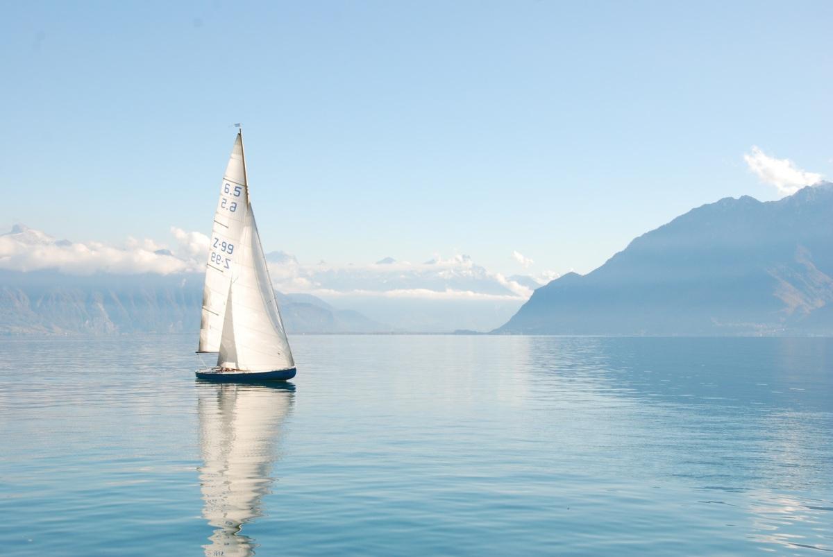 帆船唯美图片